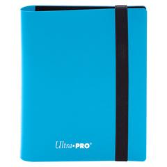Ultra Pro - 2-Pocket Eclipse Sky Blue PRO-Binder