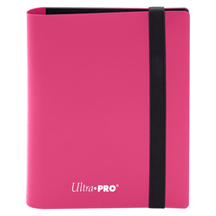 Ultra Pro - 2-Pocket Eclipse Hot Pink PRO-Binder
