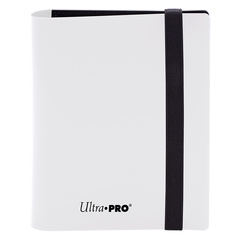 Ultra Pro - Eclipse 4-Pocket PRO-Binder (Holds 160 Cards Total) - Arctic White