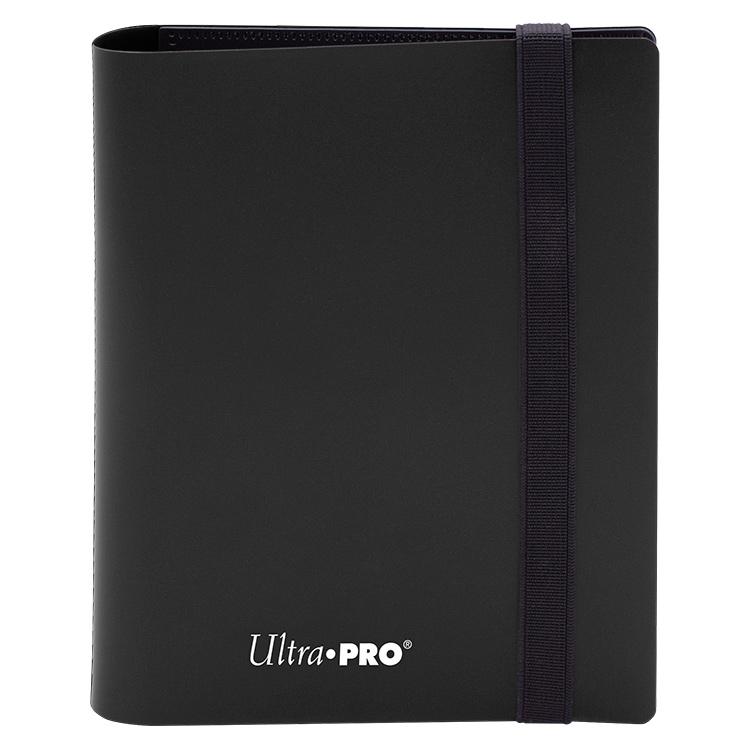 Ultra Pro - 4-Pocket Eclipse Jet Black PRO-Binder