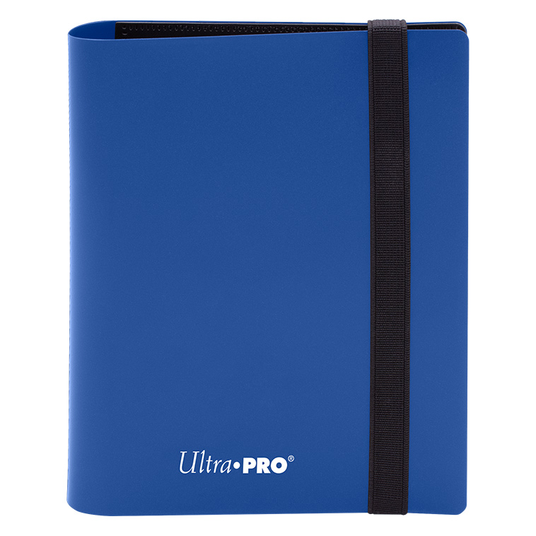 Ultra Pro - Eclipse 4-Pocket PRO-Binder (Holds 160 Cards Total) - Pacific Blue