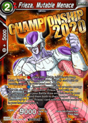 Frieza, Mutable Menace - P-201 - Championship 2020 Promo