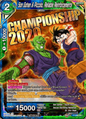 Son Gohan & Piccolo, Reliable Reinforcements - P-208 - Championship 2020 Promo