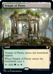 Temple of Plenty - Foil - Extended Art