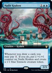 Nadir Kraken - Foil - Extended Art