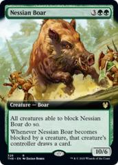 Nessian Boar - Foil - Extended Art