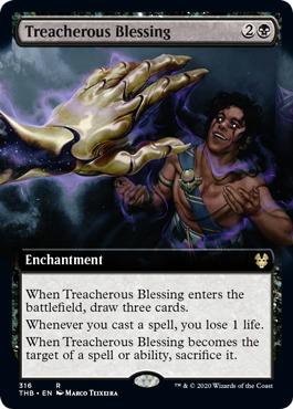 Treacherous Blessing (Extended Art) - Foil