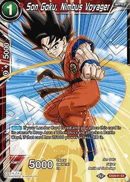 Son Goku, Nimbus Voyager - EX09-01 - EX