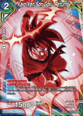 Kaio-Ken Son Goku Returns - EX10-04 - EX