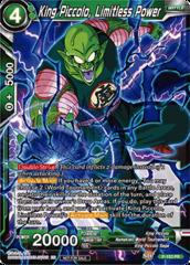 King Piccolo, Limitless Power - P-153 - PR - Foil