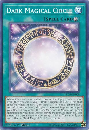 Dark Magical Circle - LED6-EN009 - Common - 1st Edition