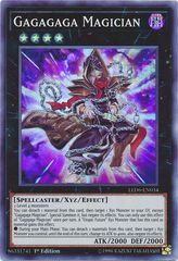 Gagagaga Magician - LED6-EN034 - Super Rare - 1st Edition