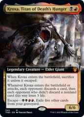 Kroxa, Titan of Death's Hunger - Extended Art