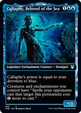 Callaphe, Beloved of the Sea - Showcase