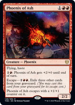 Phoenix of Ash - Foil