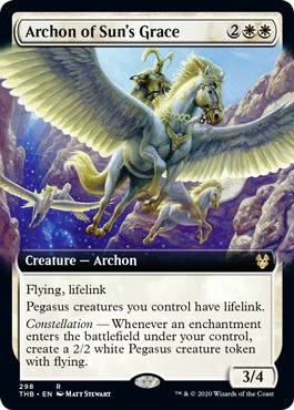 Archon of Sun's Grace - Extended Art