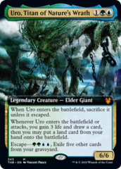 Uro, Titan of Nature's Wrath - Foil - Extended Art