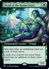 Dryad of the Ilysian Grove - Extended Art