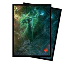 Ultra Pro - Theros Beyond Death Deck Protector Sleeves - Alternate Art Nylea, Keen-Eyed