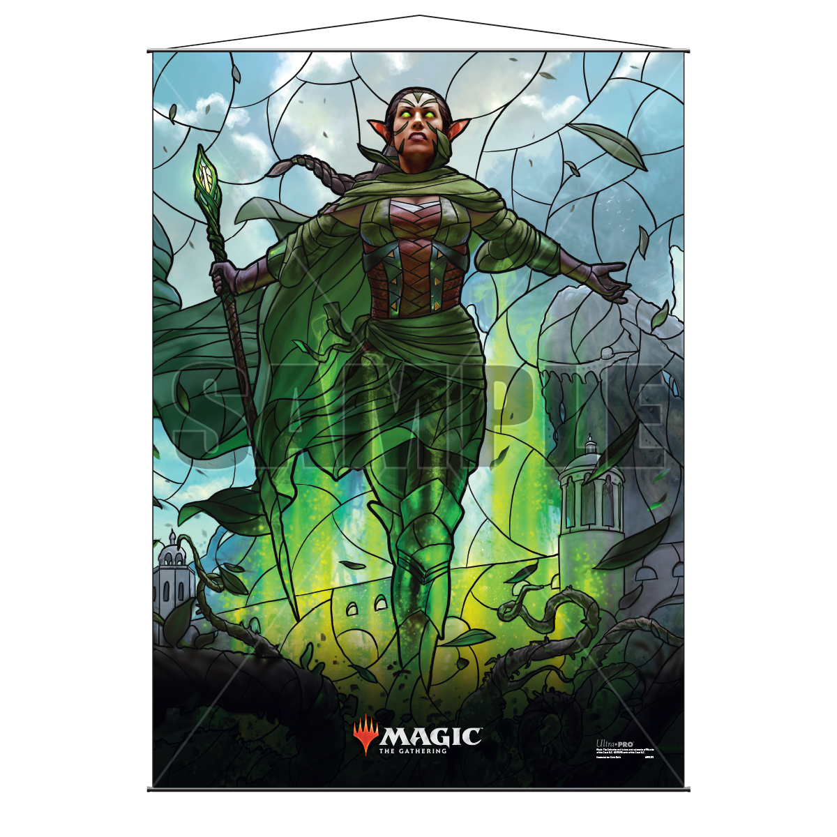 Ultra Pro Wall Scroll War of the Spark Stained Glass Nissa