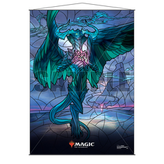 Ultra Pro Wall Scroll: Magic The Gathering - Stained Glass Planeswalkers - Ugin