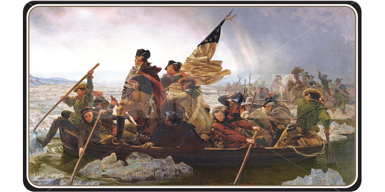 P154 - Ultra Pro - Fine Art Playmat: Washington Crossing the Delaware