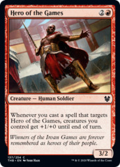 Hero of the Games - Foil