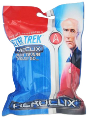Star Trek HeroClix Away Team: The Next Generation - To Boldly Go Gravity Feed Pack