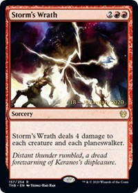 Storms Wrath - Foil - Prerelease Promo