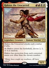 Haktos the Unscarred - Foil - Prerelease Promo