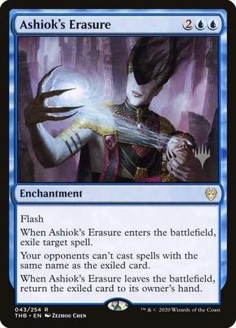 Ashioks Erasure - Promo Pack