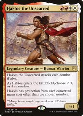 Haktos the Unscarred - Foil - Promo Pack