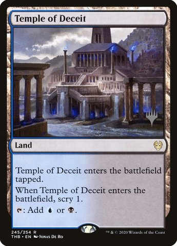 Temple of Deceit - Promo Pack