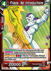 Frieza, No Introductions - BT9-003 - C - Foil
