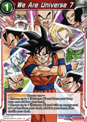 We Are Universe 7 - BT9-018 - UC