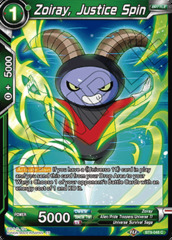 Zoiray, Justice Spin - BT9-048 - C