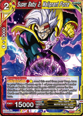 Super Baby 2, Malignant Force - BT9-095 - UC - Foil