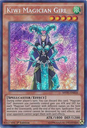 Kiwi Magician Girl - MVP1-ENS16 - Secret Rare - 1st Edition