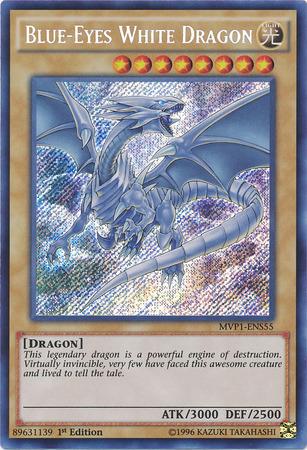 Blue-Eyes Chaos MAX Dragon Secret Rare 1st Edition MVP1-ENS04 NM Yugioh