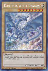 Blue-Eyes White Dragon - MVP1-ENS55 - Secret Rare - 1st Edition