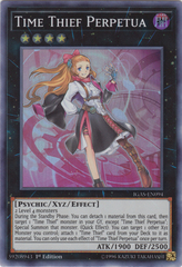 Time Thief Perpetua - IGAS-EN094 - Super Rare - 1st Edition