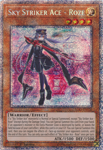 Sky Striker Ace - Roze - IGAS-EN020 - Starlight Rare - 1st Edition