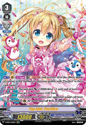 Top Idol, Pacifica (SVR) - V-EB11/SV02EN - SVR