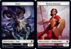 Goat Token // Human Soldier Token - Foil