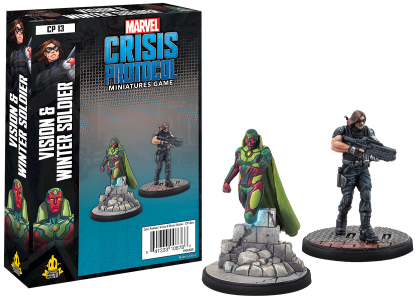 Marvel: Crisis Protocol - Vision and Winter Soldier