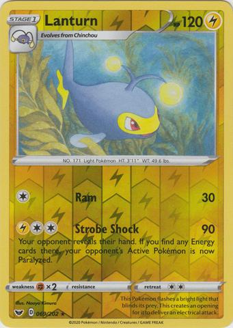 147//202 Rare Reverse Holo Near Mint Pokemon Sword and Shield Cinccino