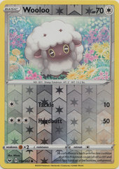 Wooloo - 153/202 - Common - Reverse Holo
