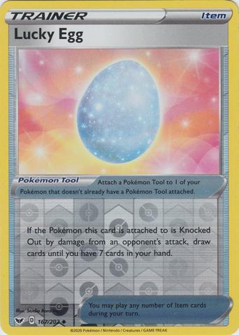 Lucky Egg - 167/202 - Uncommon - Reverse Holo