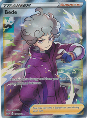 Bede - 199/202 - Full Art Ultra Rare