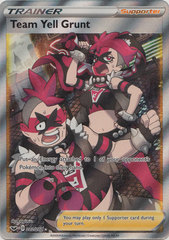 Team Yell Grunt - 202/202 - Full Art Ultra Rare